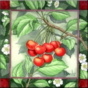 Cherries - Accent Tile