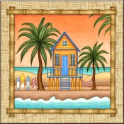 DM-Surf Shack 2 - Accent Tile