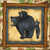 DM-Country Comfort Bear Family - Accent Tile